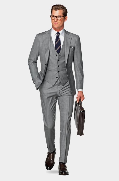 马甲套装绅士系