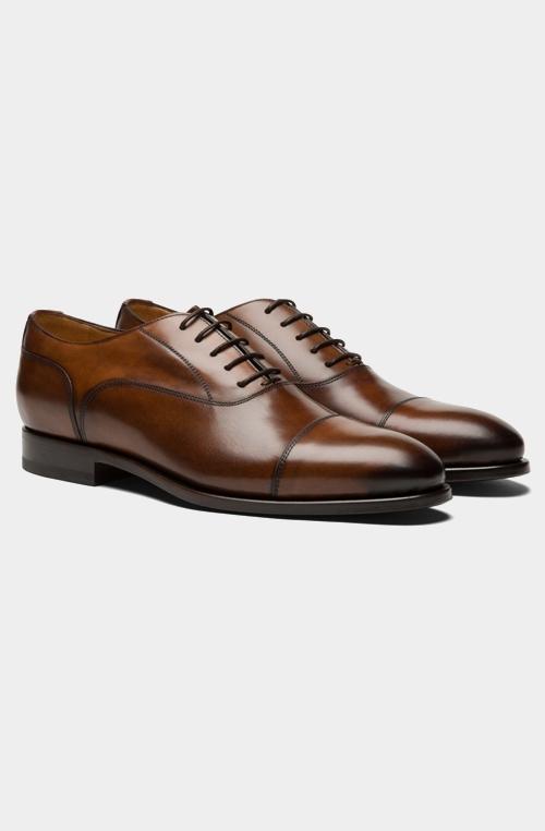 棕色Oxford牛津鞋