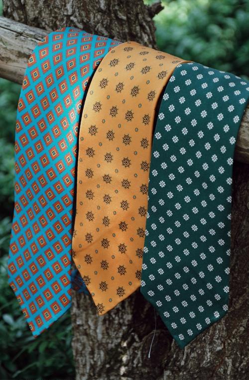 意大利手工蚕丝领带